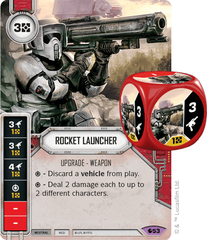 Rocket Launcher (sold w/ matching die)