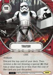 Traitor!