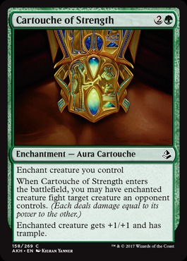 Cartouche of Strength - Foil