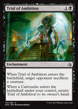Trial of Ambition - Foil