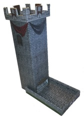 Role 4 Initiative - Castle Keep Dice Tower by Role 4 Initiative