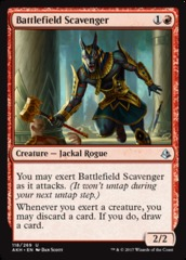 Battlefield Scavenger - Foil on Channel Fireball