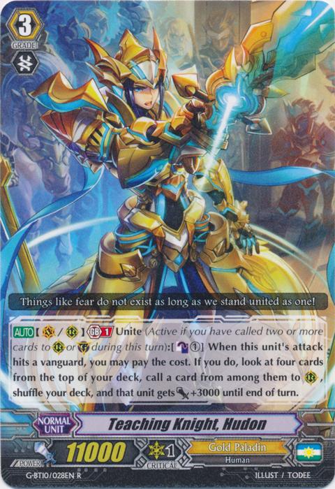 Teaching Knight, Hudon - G-BT10/028EN - R
