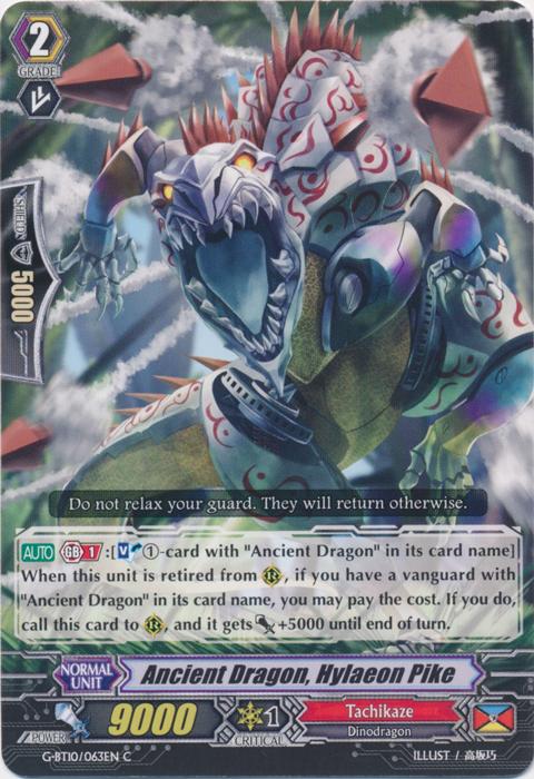 Ancient Dragon, Hylacon Pike - G-BT10/063EN - C