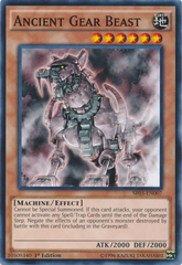 Ancient Gear Beast - SR03-EN007 - Common - 1st Edition