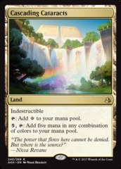 Cascading Cataracts on Channel Fireball