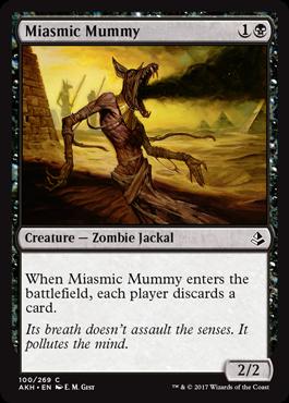 Miasmic Mummy - Foil