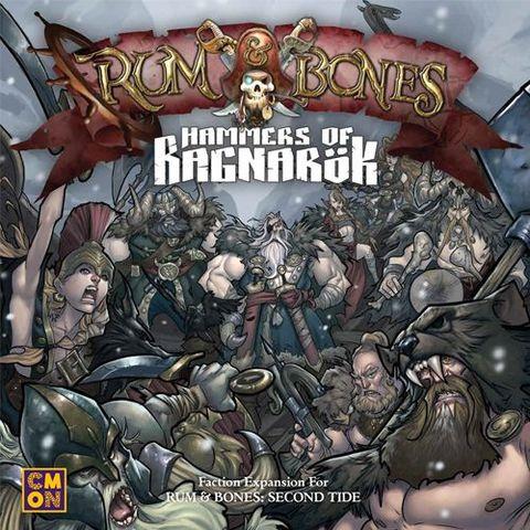 Rum And Bones: Second Tide - Hammers Of Ragnarok Expansion - Board