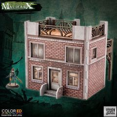Plastcraft Colored: Old Town Building