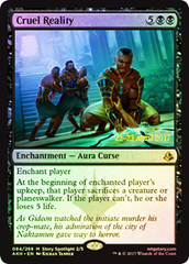 Cruel Reality (Amonkhet Prerelease Foil)