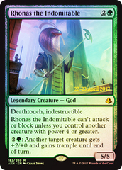 Rhonas the Indomitable - Foil - Prerelease Promo