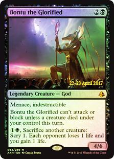Bontu the Glorified (Amonkhet Prerelease Foil)