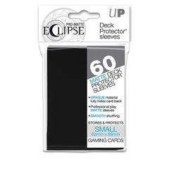 Ultra Pro Eclipse Mini Matte Sleeves - Black - 60ct