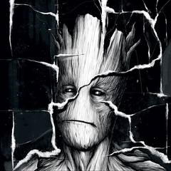 I Am Groot #1 Hip Hop Var