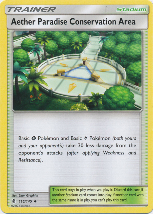 Aether Paradise Conservation Area - 116/145 - Uncommon