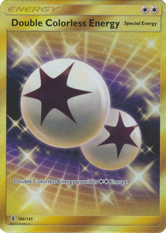 Double Colorless Energy  - 166/145 - Secret Rare