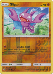 Gligar  - 67/145  - Common - Reverse Holo