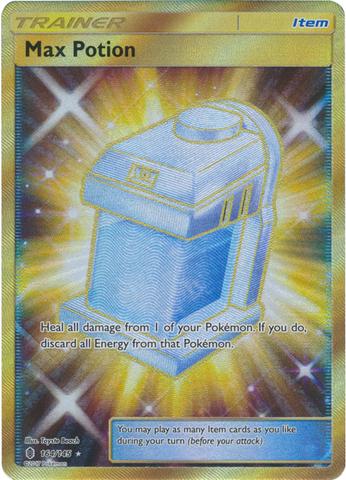 Max Potion  - 164/145 - Secret Rare