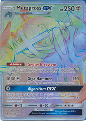 Metagross GX - 157/145 - Secret Rare