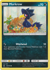 Murkrow - 78/145 - Common