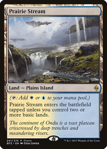Prairie Stream - Standard Series Promo
