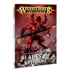 Battletome Chaos: Blades of Khorne ( 83-01-60 )