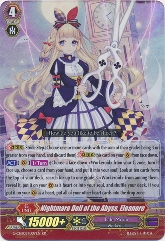 Nightmare Doll of the Abyss Beatrix G-FC02//019EN RRR