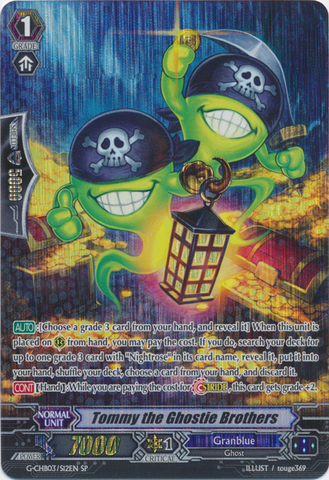 Tommy the Ghostie Brothers - G-CHB03/S12EN - SP