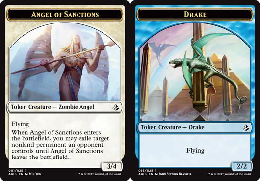 Angel of Sanctions Token // Drake Token