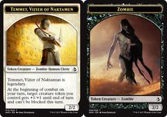 Temmet, Vizier of Naktamun Token // Zombie Token