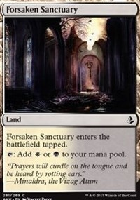 Forsaken Sanctuary (281/269) - Deckbuilders Toolkit Exclusive Amonkhet