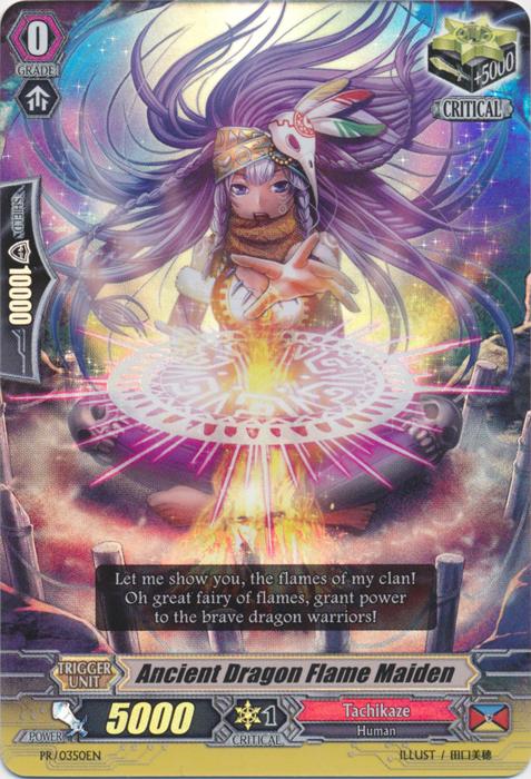 Ancient Dragon Flame Maiden - PR/0350EN - PR
