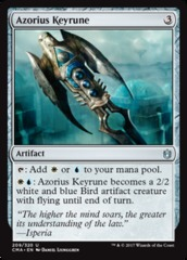 Azorius Keyrune on Channel Fireball