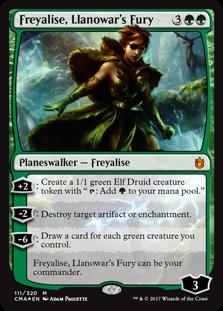 Freyalise, Llanowars Fury - Foil