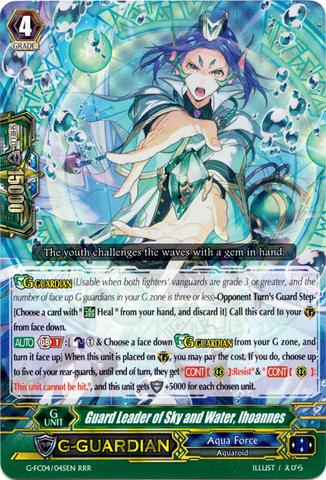 Commander Thavas  G-CB02//001EN Carte Vanguard G-CB02//001EN Storm Dominator