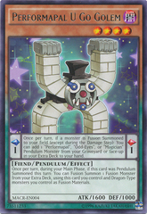 Performapal U Go Golem - MACR-EN004 - Rare - Unlimited Edition