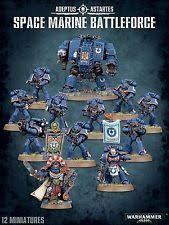 Adeptus Astartes Space Marine Battleforce