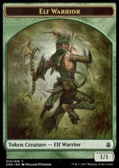 Elf Warrior Token (12)