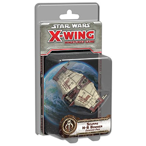 Star Wars - X-Wing Miniatures Game: Scurrg H-6 Bomber Expansion Pack