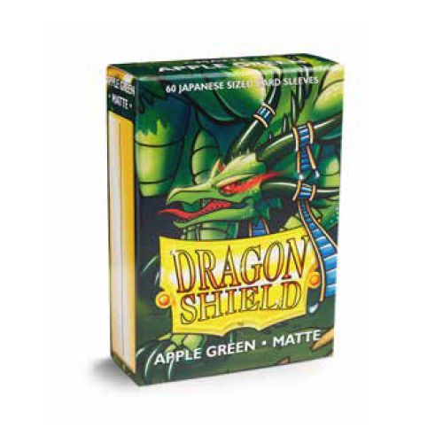 Dragon Shield Sleeves: Japanese Matte Apple Green (Box Of 60)