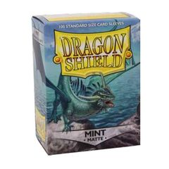 Dragon Shield Standard Matte Sleeves: Mint