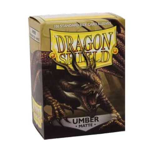 Dragon Shield Sleeves: Matte Umber (Box Of 100)