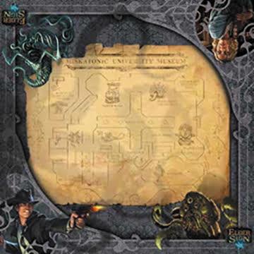 Elder Sign: Museum Game Mat