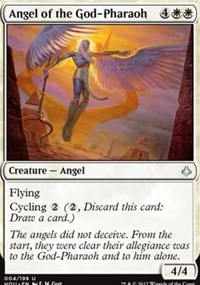 Angel of the God-Pharaoh - Foil