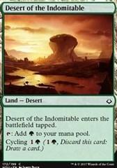 Desert of the Indomitable - Foil on Channel Fireball