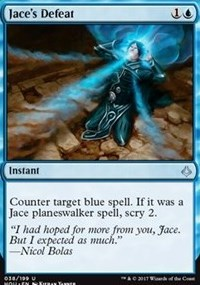 Jaces Defeat - Foil