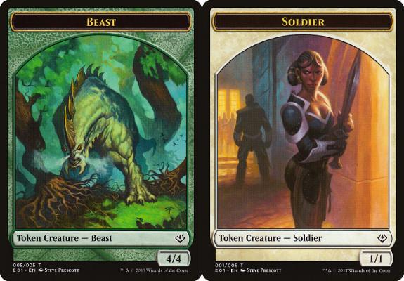 Beast Token (4/4) // Soldier Token