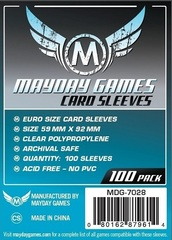 Mayday - Standard Euro Sleeves 59Mm X 92Mm 100Ct