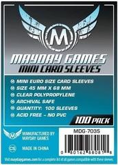 Mayday - Standard Mini Euro Sleeves 59Mm X 92Mm 100Ct