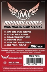 Mayday - Standard Mini Usa Chimera Sleeves 43Mmx65Mm 100Ct